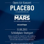 Placebo und 30 Seconds to Mars in Stuttgart